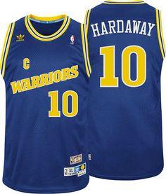 Tim Hardaway jersey-Buy 100% official Adidas Tim Hardaway Men's Swingman Blue Jersey Throwback NBA Golden State Warriors #10 Free Shipping.