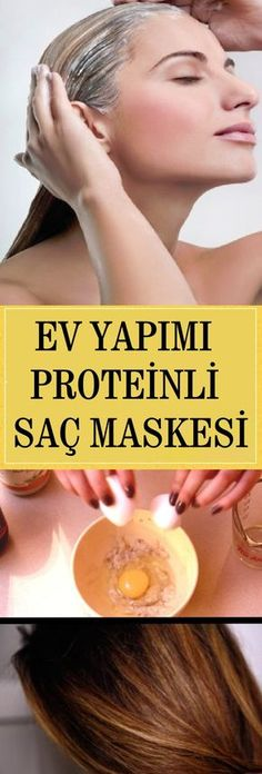 How to Make Homemade Protein Hair Mask - Site Today Wavy Hair Care, Blonde Hair Care, Protein Hair Mask, Wie Macht Man, Skin Mask, Natural Haircare, Homemade Skin Care, Homemade Mask, Hair Care Routine
