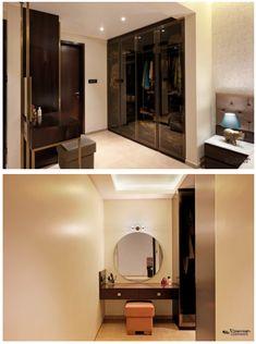 Italian Marble Flooring, Dressing Room Design, Wardrobe Design, Built Environment, Apartment Design, A Boutique, Living Area, Modern Contemporary, Master Bedroom