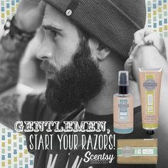 #NoShaveNovember has come to an end! No worries our Scentsy #Groom line is here to help ;) https://casies.scentsy.us/Buy/Category/2878
