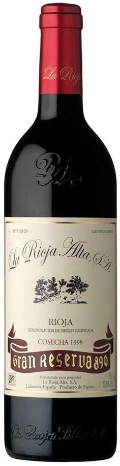 Rioja Alta Gran Reserva 890 1998