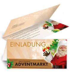 Einladungskarten Zum Adventmarkt Jetzt Online Kaufen. #adventmarkt # Einladungen #advent