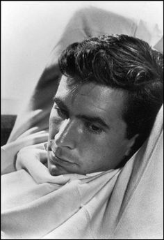 Anthony Perkins by Halsman