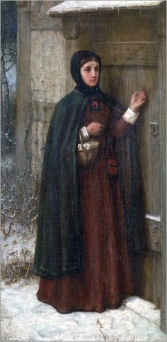 George Henry Boughton (1833-1905) - The Letter Scarleet