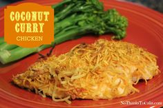 Weight Watchers Coconut Curry Chicken | No Thanks to Cake
