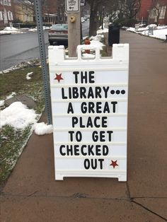 """The library just jumped 50 points in """"cool"""" ratings"""