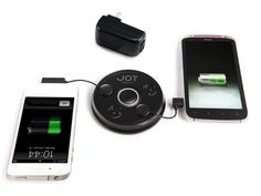 Zip Mini Touch-N-Go with Free Lightning Adaptor for iPhone 5, charge up to 5 devices at once