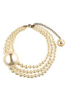 Chanel - Accessories - 2014 Spring-Summer - statement pearls!