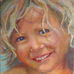 Portret by Lida Meines Portraits, Portrait Paintings, Painting & Drawing, Art For Kids, Whimsical, Disney Characters, Fictional Characters, Therapy, Watercolor