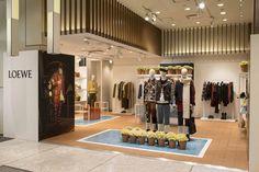 Loewe pop-up store by Johnatan Anderson & m/m (paris), Shinjuku – Japan