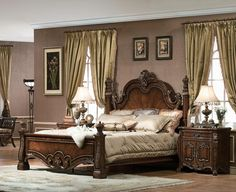 Marge Carson SG91 Segovia Poster Bed available at Hickory Park ...