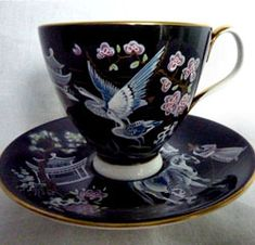 Royal Albert China - Special Collections - Smooth Shape #2 Teacups and Saucers