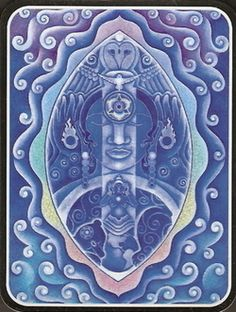 6th Third Eye Chakra ~ I See  ~ look within the silence and behold our indigo soul-light hear the quiet wisom that illumines our inner sight together let us dream of the peaceful world we would perceive with our imagination we will create what we believe  ~ poem & painting ©2002 Mara Berendt Friedman