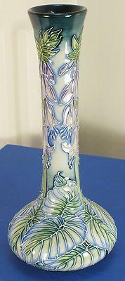 "Moorcroft 8"" vase 99/8 Seadrift Sea Drift Rachel Bishop 1st Quality 2003 | eBay"