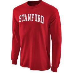 Stanford Cardinal Vertical Arch Cardinal Long Sleeve T-shirt