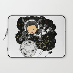 Travel Laptop Sleeve by MIKART | Society6