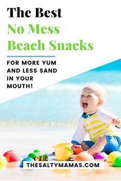 It's beach season, and if you have kids - don't forget the snacks! Check out what to bring for the best beach day snacks to keep everyone happy!