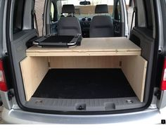VW Caddy - Camping expansion My Outdoor VW Caddy – Camping Ausbau Auto Camping, Used Camping Trailers, Camping World, Camping Hacks, Minivan Camping, Camping Cabins, Camping Gear, Caddy Camping, Camping Stove
