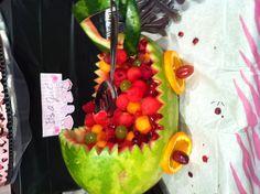 Stroller fruit tray