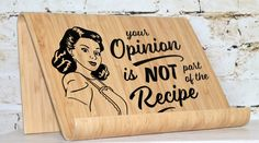 Opinion Recipe Book Holder