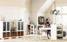 Make it a playroom/craft room. HomeDecorators.com