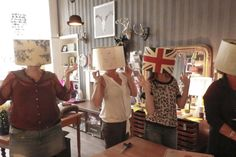 Lampshade workshops by Lovely Things, Dundee 2nd Hand Furniture, Dundee, Shabby Chic Furniture, Lovely Things, Workshop, Handmade, Atelier, Hand Made, Work Shop Garage