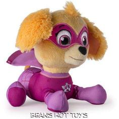 Ryder Kids Toy Play New  Gift Nickelodeon Paw Patrol Plush Pup Pals