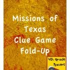 This freebie is intended to reinforce what students have learned about different missions. Each student completes their own fold-up with four clues...