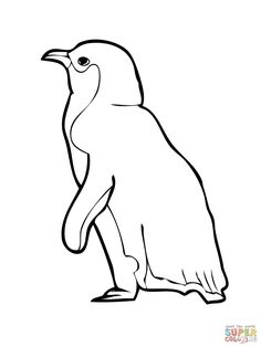 Little Blue Penguin Coloring Pages Penguin Coloring Pages, Animal Templates, School Murals, Mural Ideas, Study Help, Penguins, Bible, Drawings, Art