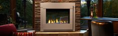 Bolster your favorite room and upgrade your outdoor living space. The Twilight Modern is an evolution of the industry's first indoor/outdoor see-through fireplace, and delivers impressive fireside views whether relaxing inside or socializing outside. Indoor Outdoor Fireplaces, Outdoor Gas Fireplace, Propane Fireplace, Fireplace Ideas, Gas Fireplaces, Modern Fireplaces, Fireside Hearth And Home, See Through Fireplace, Custom Fireplace
