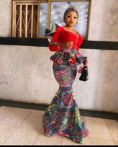 16 Astonishing / Mind-boggling Ankara Styles For Church & Wedding WOW, are you searching for Ankara Styles, Aso Ebi Styles, African Fashion, African Lace Dresses, African Inspired Fashion, Latest African Fashion Dresses, African Dresses For Women, African Print Fashion, African Attire, African Outfits, Ankara Fashion, African Women