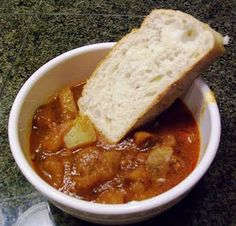 Portuguese Stew - one of my hubby's all time faves! @Manuel Schneider Schneider Schneider Goncalves ;)