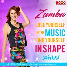 The magic of Zumba ... 1. The passion of Music 2. The fun of dance 3. The effectiveness of fitness.