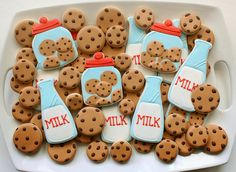 Cookies and Milk | Flickr - Photo Sharing!