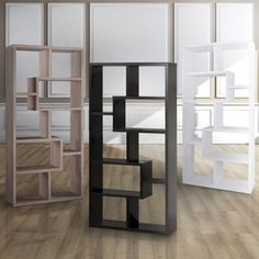 Furniture of America Verena Contoured Leveled Display Cabinet | Overstock.com Shopping - The Best Deals on Media/Bookshelves