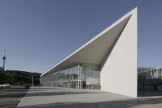 Litexpo Exhition Pavilion, exterior glass facade multi functionals pavilion building