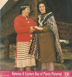 Front cover image from Rotorua Photonews Sept 25, 1965. Depicts Guide Nini and Miss Disneyland at Whakarewarewa Model Village. Available to peruse at Rotorua District Library on the 2nd Floor.