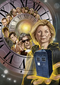 Doctor Who is one of the longest running shows of all time. Check out the amazing Doctor Who poster collection and keep on finding who is the Doctor. Arte Doctor Who, Doctor Who Poster, Doctor Who Fan Art, Dr Who 13th Doctor, Doctor Who Comics, The Doctor, Doctor Who Tardis, Doctor Strange, Science Fiction