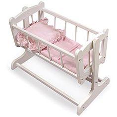 Badger Basket Heirloom Doll Cradle - Overstock™ Shopping - Big Discounts on Badger Basket Furniture & Accessories