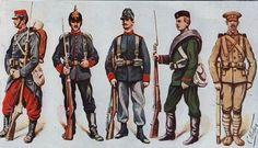 french ww1 uniforms - Google Search