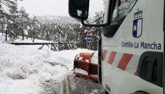 Cerca de 90 operarios de la Junta despejaron la nieve en 550 kilómetros de carreteras en Cuenca y Guadalajara