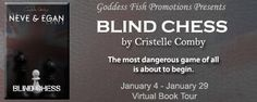 Like Mystery Books? Like Detective Series? Check out the  Virtual Book Tour & #Giveaway for Blind Chess by #CristelleComby and Enter to #Win a Signed Print Copy of the First Four Books in the Series.. #GoddessFishPromos.....