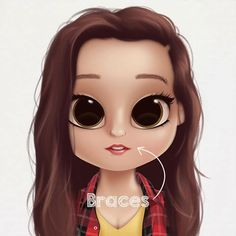 I tried to create Billie Eilish! I dont think it went that well it was really hard to make it similar to her because there wasn't many things that looked like her or what she would wear. Kawaii Girl Drawings, Cute Drawings, Caricature, Personalised Gifts For Friends, Human Drawing, Barbie, Black Love Art, Cute Cartoon Girl, Cute Girl Wallpaper