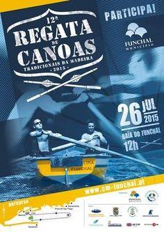 A 12ª Edição da Regata de Canoas Tradicionais da Madeira, importante iniciativa sócio-cultural da Câmara Municipal do Funchal, que decorrerá no dia 26 de Julho, às 12H00, na Baía do Funchal,numa organização conjunta com a Associação Regional de Canoagem da Madeira e com o apoio da Associação da Madeira Desporto para Todos.