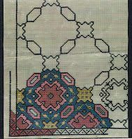 Folk Embroidery, Vintage Embroidery, Needlework, Bohemian Rug, Projects To Try, Cross Stitch, Crochet, Blog, Handmade