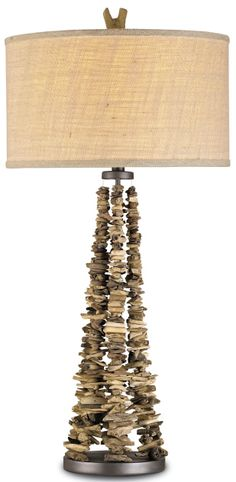 Driftwood Swags Table Lamp from http://www.cottageandbungalow.com/cur-6460.html#