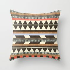 Buy DG Aztec No.1 Throw Pillow by Dawn Gardner. Worldwide shipping available at Society6.com. Just one of millions of high quality products available.