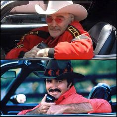 Love & Respect Bandit .....RIP 🍻 Firebird Car, Pontiac Firebird Trans Am, Pontiac Gto, Old American Cars, American Muscle Cars, Smokey And The Bandit, Movie Cars, Burt Reynolds, Old Movie Stars