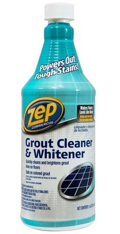 Zep Commercial ZU104632 Acid Based Grout Cleaner And Whitener, 32 oz