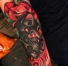 Tattoo by Joe Frost